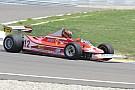 La Ferrari di Villeneuve in pista a Modena