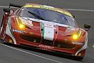 Griffin si insabbia con la Ferrari numero 81
