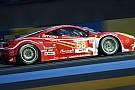 La Ferrari #58 nel muro alla Chicane Forza Motorsport