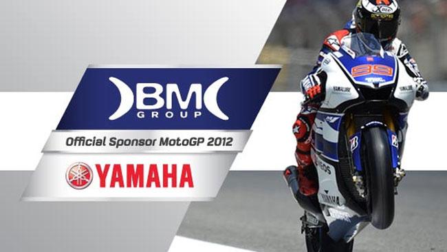 BM Group nuovo sponsor della Yamaha