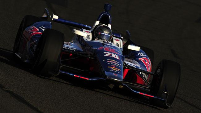 Marco Andretti conquista l'ultima pole del 2012