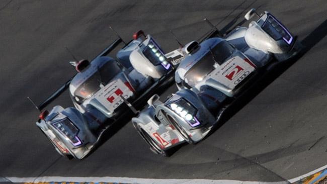Audi corre ai ripari con una seconda R18 e-tron quattro