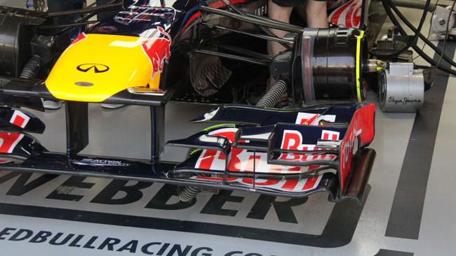 Vettel soddisfatto delle novità Red Bull Racing