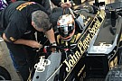 D'Ambrosio sulla Lotus 98T - Renault di Senna