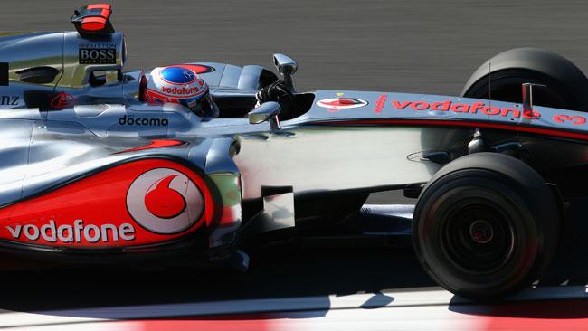 Suzuka, Libere 1: Button nella doppietta McLaren
