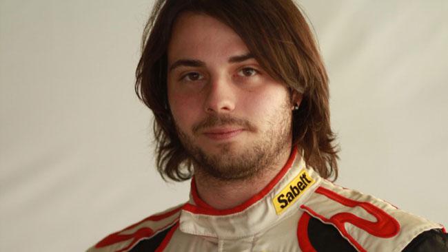 Stefano Comini con l'Antonelli Motorsport a Monza