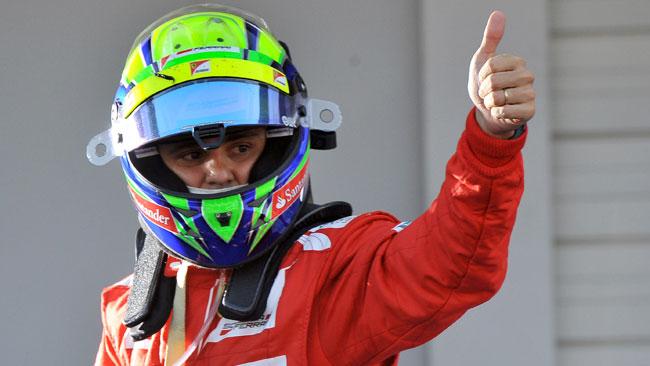 E' ufficiale: Felipe Massa resta alla Ferrari nel 2013