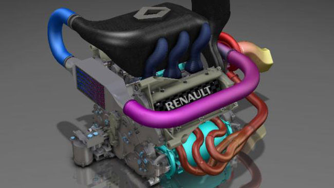 Il V6 Renault Turbo girerà a 12 mila giri