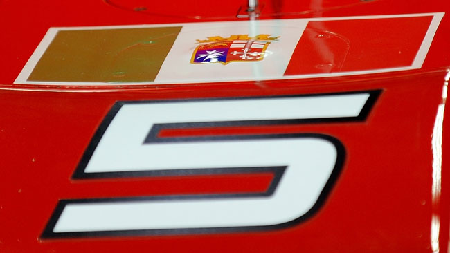 Per la Ferrari la bandiera non ha significato politico