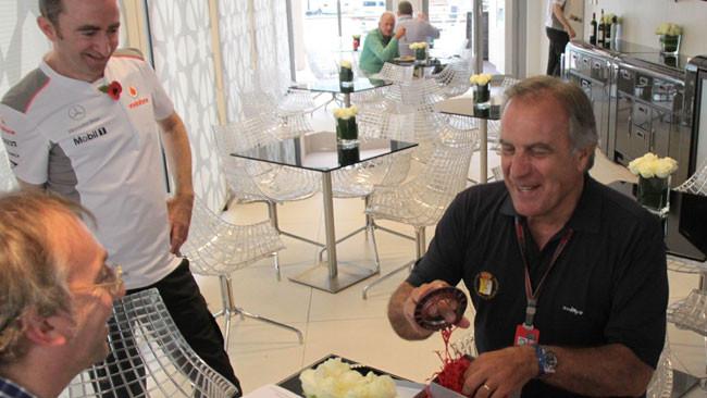 Il dado McLaren è... tratto: tanti auguri Giorgio!