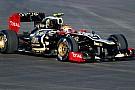 La Lotus sostituisce il cambio di Grosjean