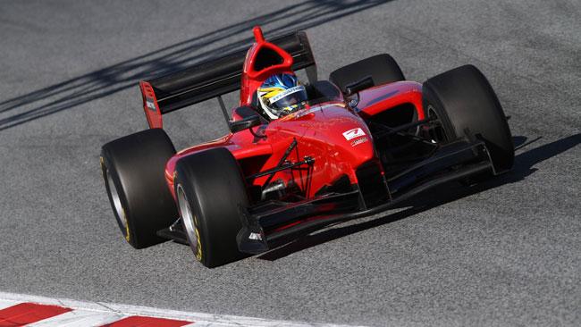 La nuova vettura di Auto GP subito veloce a Barcellona