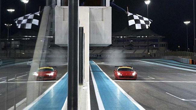 La AF Corse concede il bis nella Gulf 12 Hours
