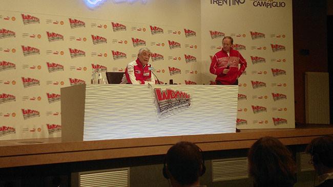 Del Torchio introduce le novità di Ducati Corse