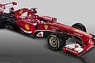 Ecco la prima immagine della Ferrari F138