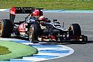 Jerez, Day 2: Grosjean e la Lotus dettano il ritmo