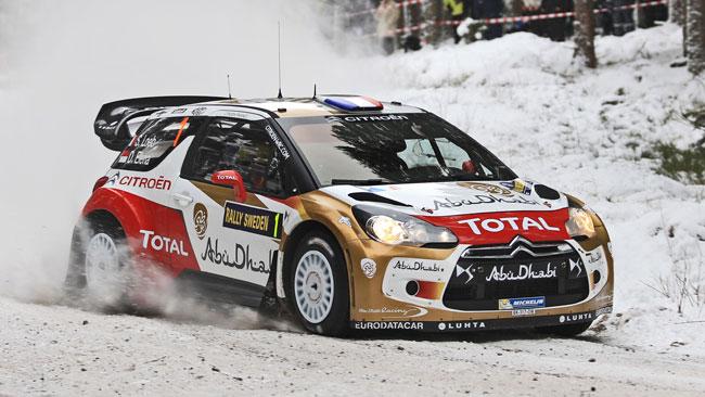 Svezia, PS1: Loeb si impone nella Superspeciale