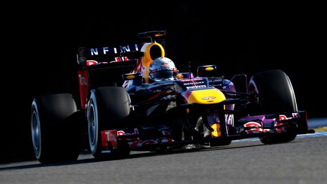 Jerez, Day 4, Ore 13: Vettel prima della bandiera rossa
