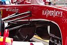 La Ferrari di Alonso mantiene il buco sotto al muso