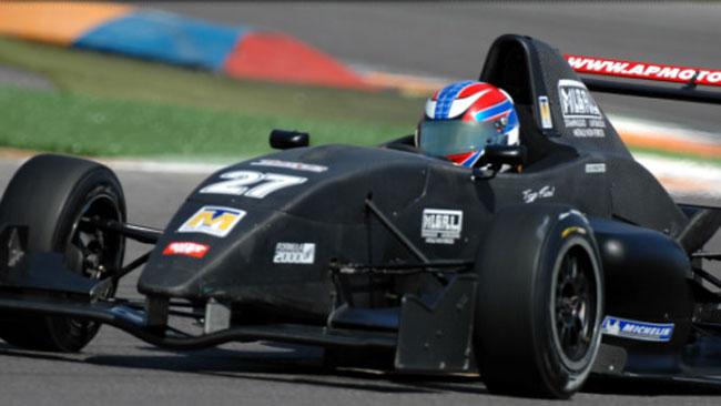 Test con la AP Motorsport per Massimiliano Clerici