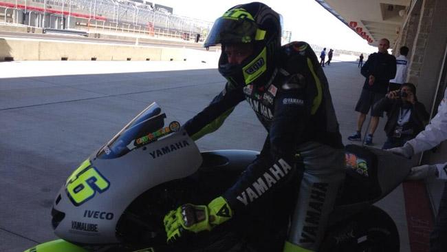 Austin, Day 1: Lorenzo e Valentino i primi in pista