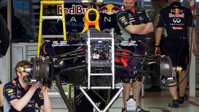 Red Bull: è arrivato un nuovo alettone posteriore