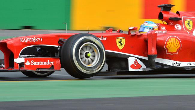 Alonso soddisfatto dell'avvio stagionale della Ferrari