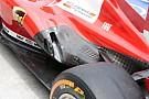 La Ferrari apre la fiancata nella zona degli scarichi