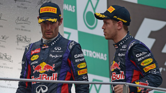 A caldo Webber aveva pensato di lasciare la Red Bull