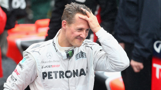 Schumi diventa ambasciatore del marchio Mercedes
