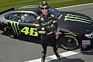Valentino si diverte sulla Toyota della NASCAR