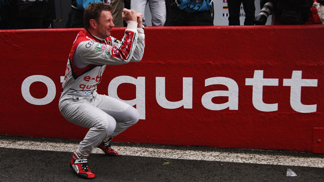 Allan McNish ha cancellato l'errore del 2012
