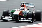Force India sotto peso: di Resta al fondo della griglia