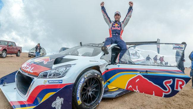 Loeb domina la Pikes Peak e polverizza il record!