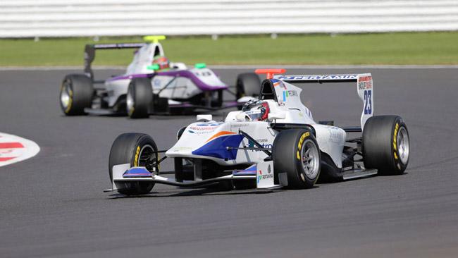 Venturini si gode la sua prima vittoria in GP3