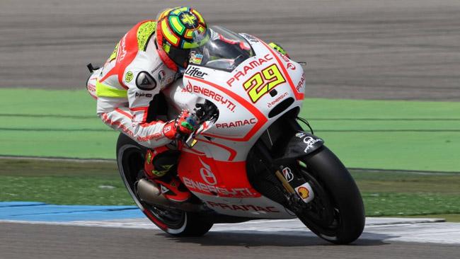 Andrea Iannone ottimista in vista del Sachsenring
