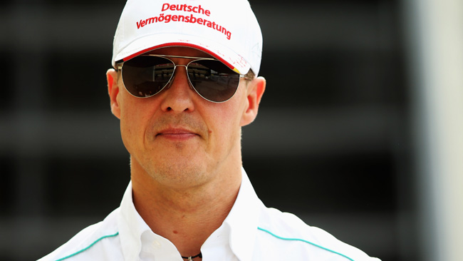 Schumacher protagonista di un video sulla sicurezza