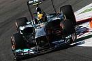 La Mercedes di Hamilton aveva il fondo danneggiato