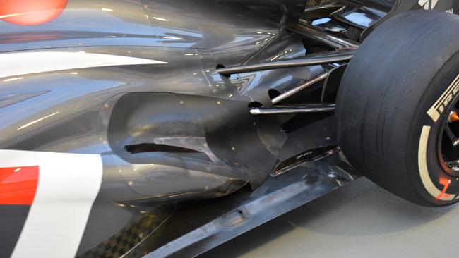 La Sauber svasa la pancia per gli scarichi soffianti!