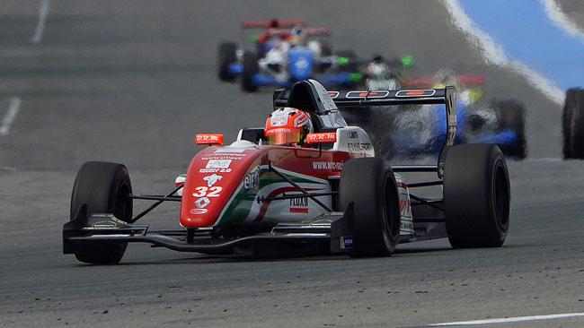 Luca Ghiotto si prende la pole per gara 2