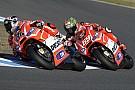 Torna il sole e la Ducati ritrova i soliti problemi