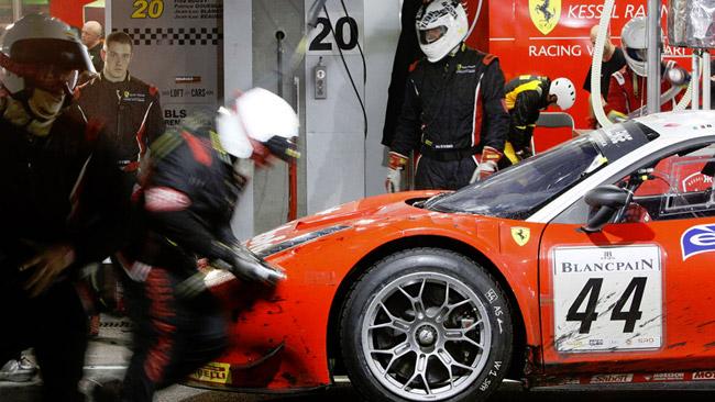 Kessel Racing alla 12 Ore del Golfo con 4 Ferrari