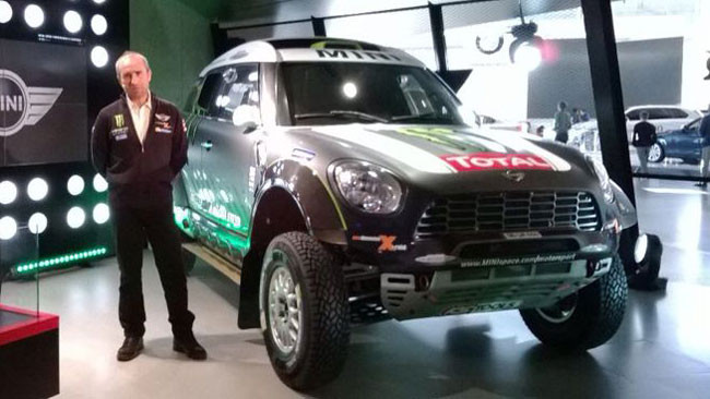 La Mini e Peterhansel pronti per la Dakar 2014