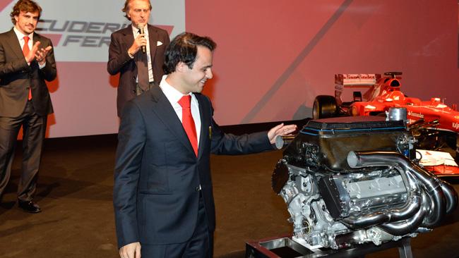 La Ferrari regala a Massa il V8 della F2008