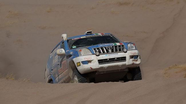 La Dakar 2014 è finita anche per Pietro Cinotto