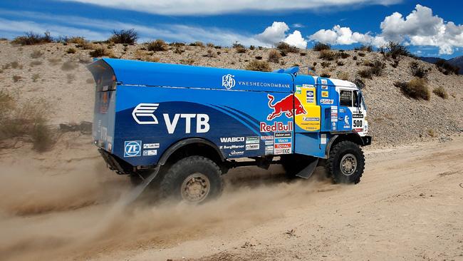 Dakar, Tappa 7, Camion: Kamaz firma una doppietta
