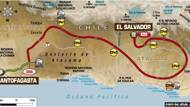 Dakar 2014: arrivo in quota per l'11esima tappa
