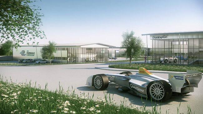 Formula E: scelta Donington come sede operativa