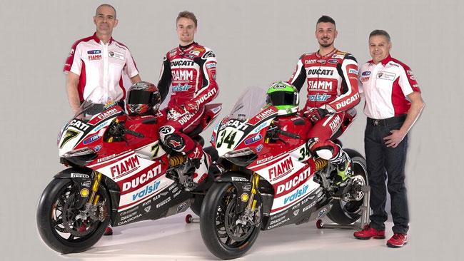 Ecco i nuovi colori del Ducati Superbike Team