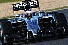 Test Jerez, Day 2, Ore 12: Button al comando
